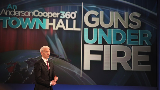 Hangout with Anderson Cooper at 12 p.m. ET