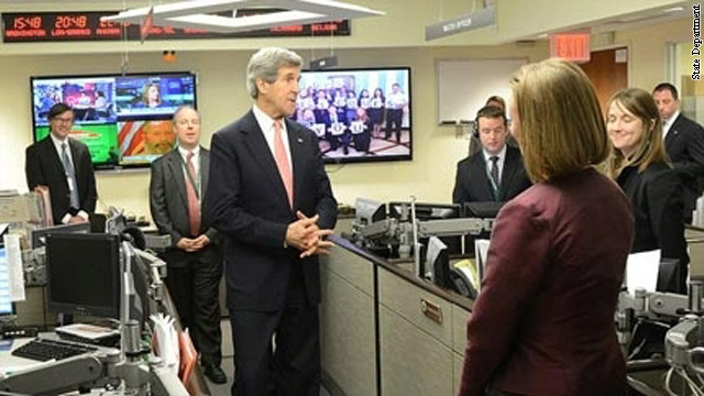 Benghazi puts security to the top of Kerry's to-do list