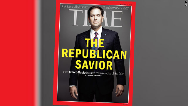 TIME: Marco Rubio, immigrant son