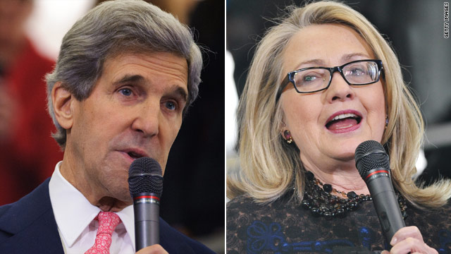 Kerry distances himself from Clinton backing of arming Syrian rebels