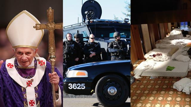 The AC360 Weekly Buzz: Christopher Dorner manhunt, Pope's resignation, Hadiya, Carnival Triumph, The Bully Effect
