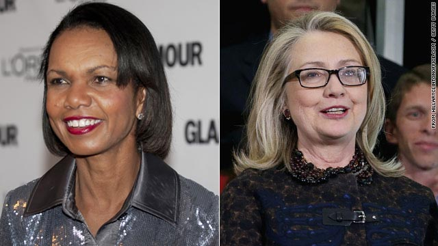 Poll: Clinton, Rice top list of who would make a good president