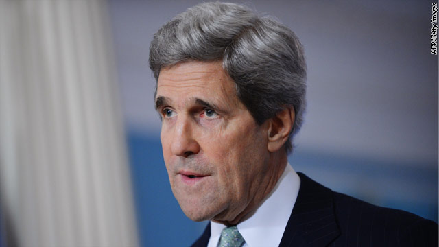 Kerry to announce more nonlethal aid for Syrian rebels