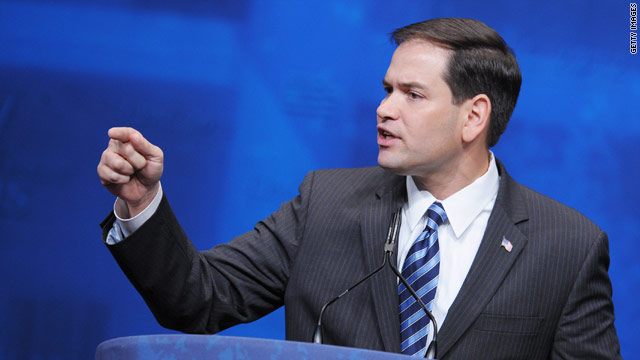Rubio and White House in war of words over immigration meetings