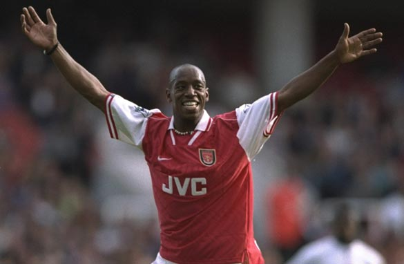 What would you ask former Arsenal striker Ian Wright? (Getty Images).