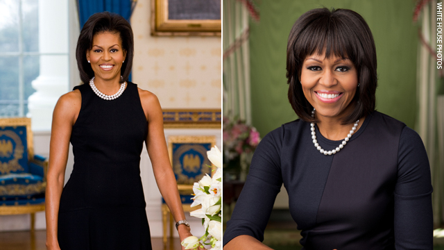 Photo: Michelle Obama's new portrait