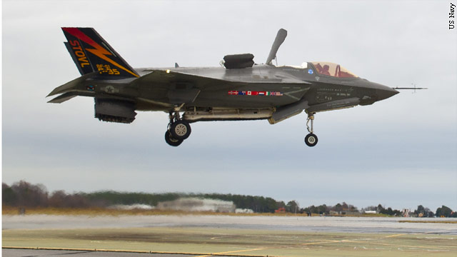 U.S. military grounds F-35 Fighter