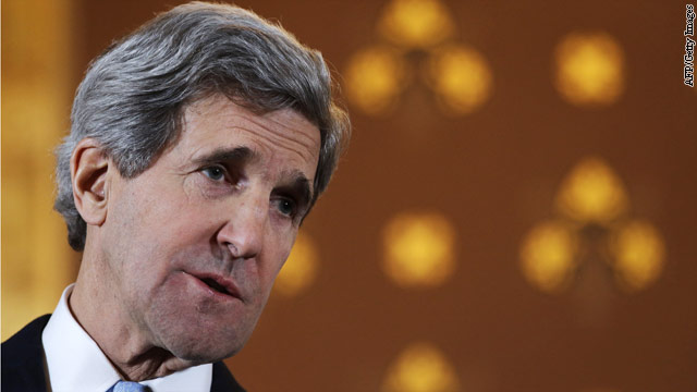 Kerry at Mideast corner of optimism and skepticism