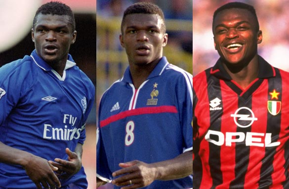 Former France and Chelsea defender Marcel Desailly was the star guest on this week's CNN FC show. (Getty Images).