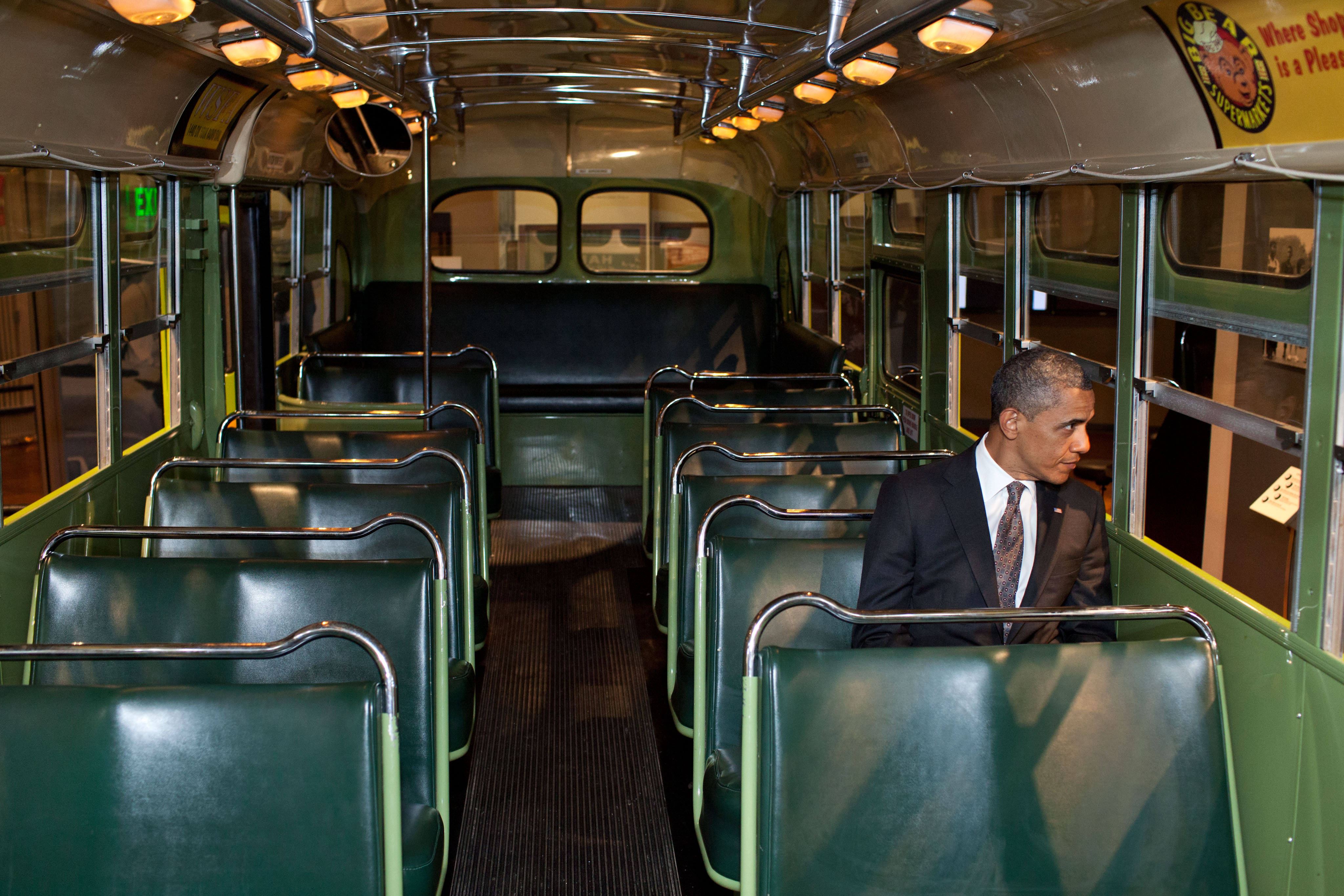 POTUS attends unveiling of Rosa Parks statue on Capitol Hill