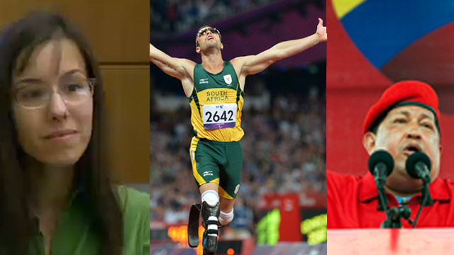The AC360 Weekly Buzz: Arias testimony, FL sinkhole, Pistorius' past, HIV 'cure,' Chavez dies, lion attack