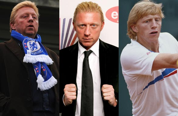 Boris Becker will be swapping the tennis court for the CNN FC studio (Getty Images).