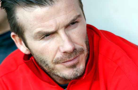 David Beckham's career maybe in its twilight but he is still a world beater in terms of earnings. (Getty Images).