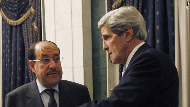 kerryiraqt1larg Kerry presses for end to Irans shipments to Syria over Iraq