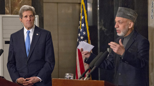 Karzai says media misinterpreted comments on U.S. and Taliban