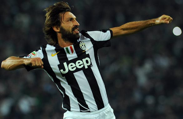 Andrea Pirlo is key to Juventus' chances of beating Bayern Munich. (Getty Images).