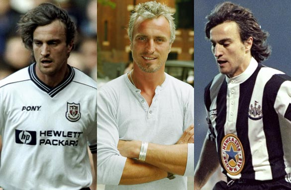 Former France, Newcastle United and Tottenham Hotspur star David Ginola was a special guest on CNN FC. (Getty Images).