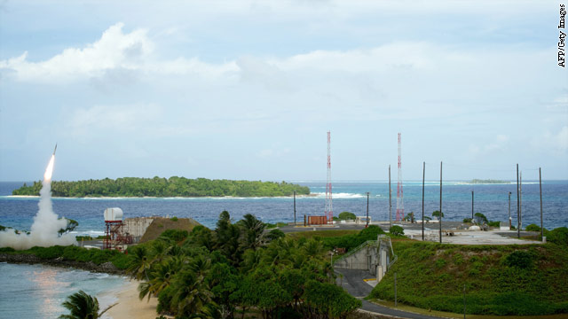 U.S. sending defensive missiles to Guam