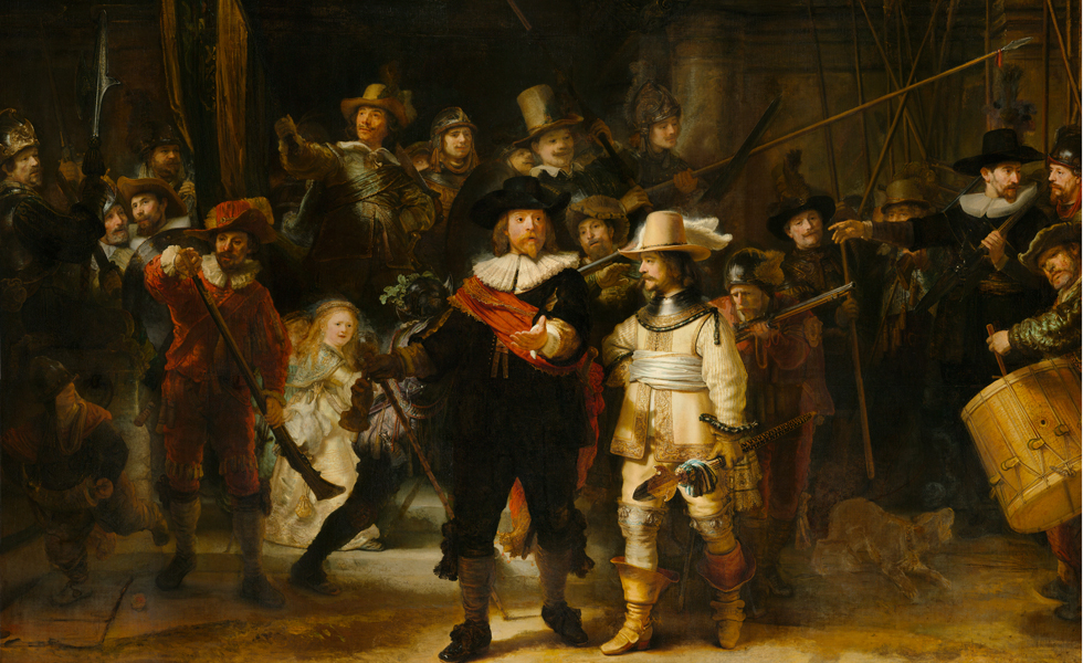 Image result for rembrandt night watch