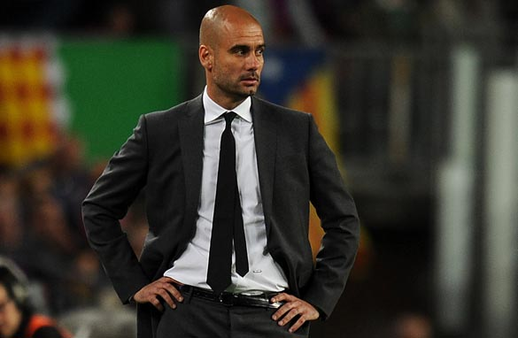 Josep Guardiola oversaw a period of domestic and European dominance for Barcelona. (Getty Images).