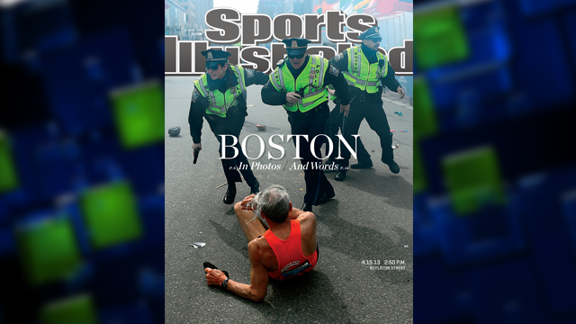 "Bill Iffrig, subject of iconic ""Boston Globe"" photo:  ""The shock waves hit my whole body...my legs just started jittering around...I knew I was going down"""
