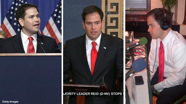 Rubio's rapid response to immigration reform critics