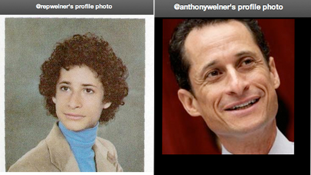 Weiner gets a Twitter makeover