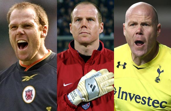 Brad Friedel has spent 16 years playing in England's top division. (Getty Images).