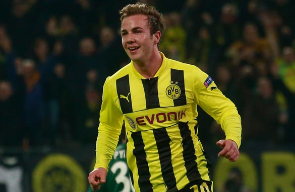 Borussia Dortmund's Mario Gotze will be playing for Bayern Munich next season. (Getty Images).