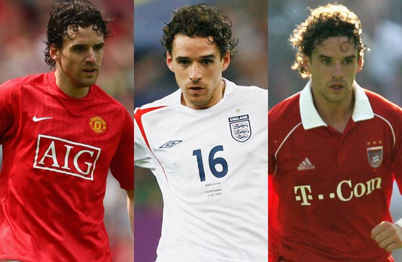 Owen Hargreaves played for Bayern Munich before moving to Manchester United in 2007. (Getty Images).