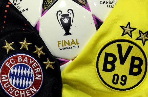 For the first time, a deutsches derby will decide who is the best club side in Europe. (Getty Images).