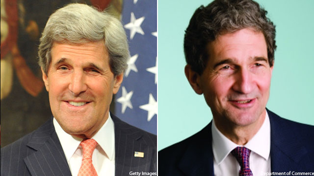 Cabinet to get a second Secretary Kerry
