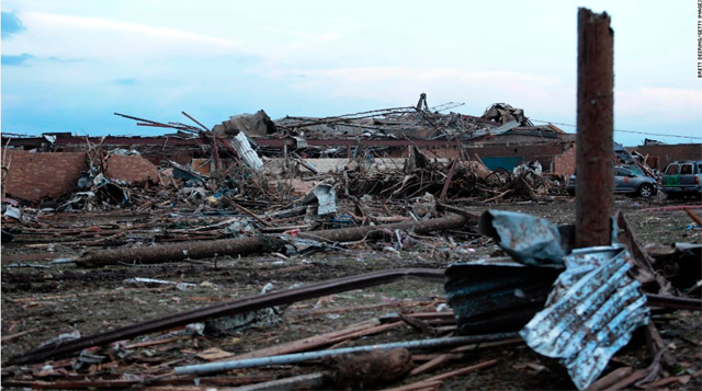 CNN coverage: deadly Oklahoma tornado