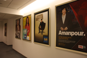 "Today's ""New Day"" Sneak Peek Photos: The Halls of CNN"