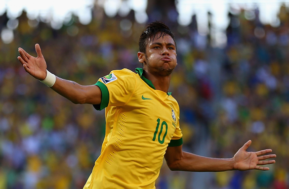 Neymar has scored three superb goals during the Confederations Cup. (Getty Images).