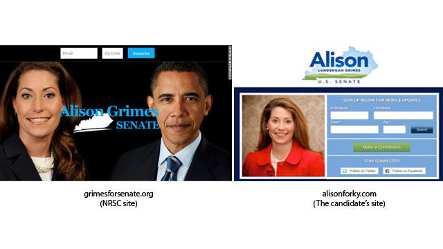 Web wars start early in crucial 2014 Senate battle