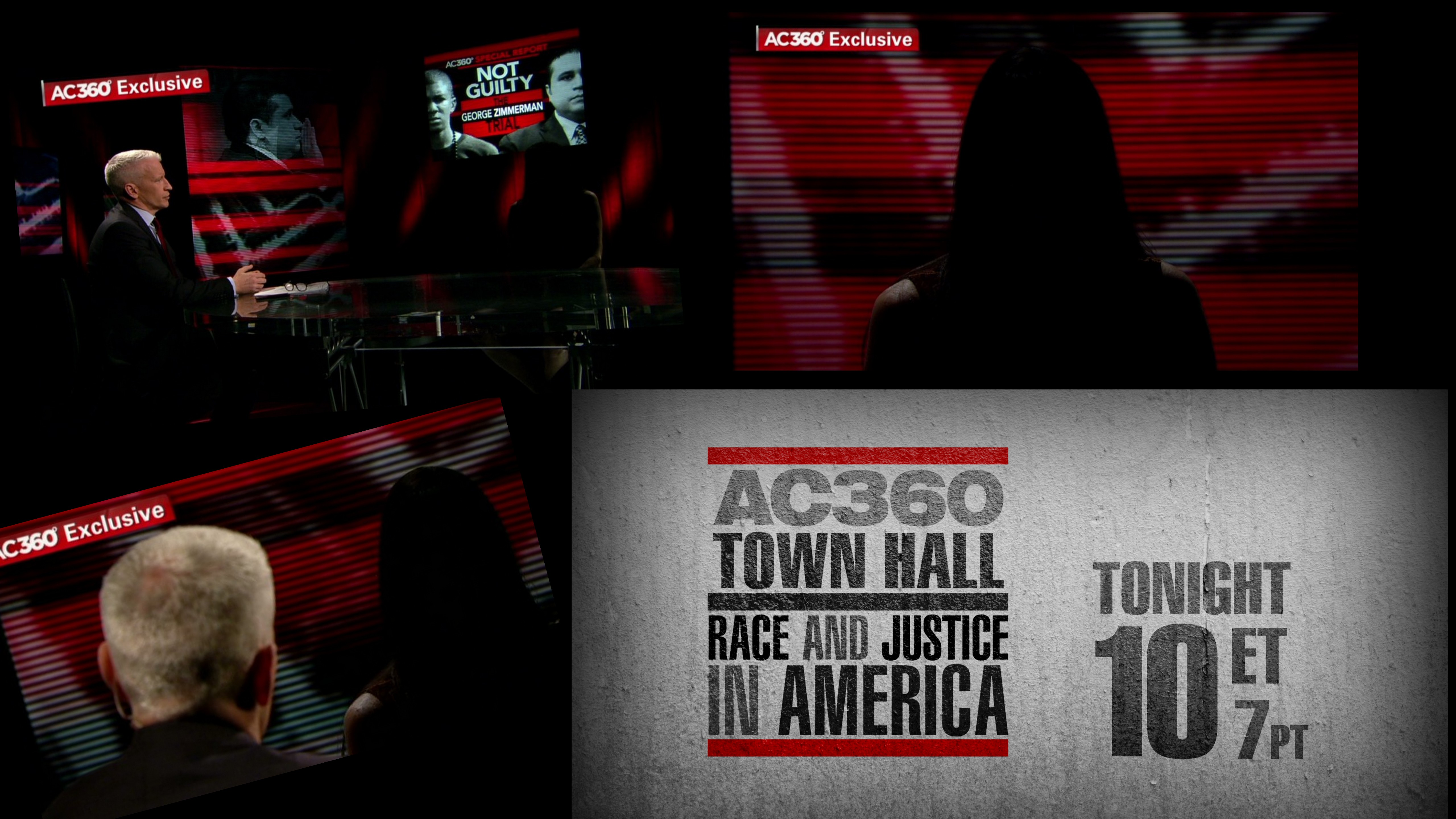 Tonight on AC360: Part 2 of Juror B37 interview, 'Race and Justice in America' Town Hall
