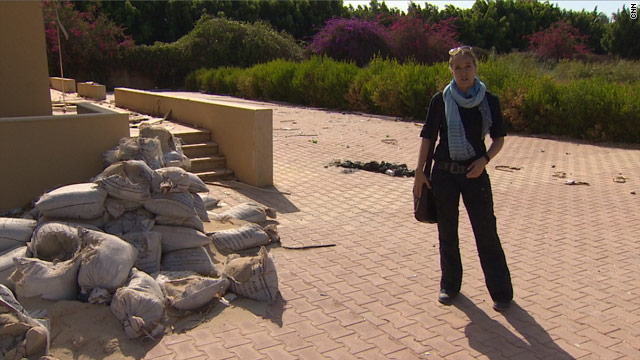 CNN's Arwa Damon returns to Benghazi