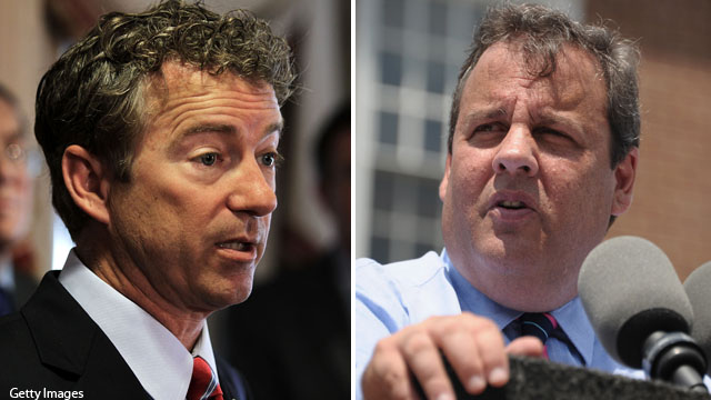 Rand Paul labels Chris Christie a moderate