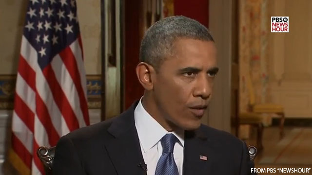 Obama: I'm not opposed because of race