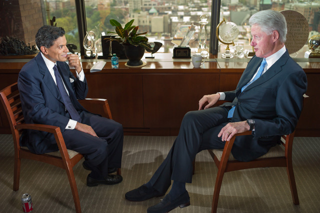 President Bill Clinton joins Fareed Zakaria for Sunday, Sept. 22 – 10:00am and 1:00pm ET
