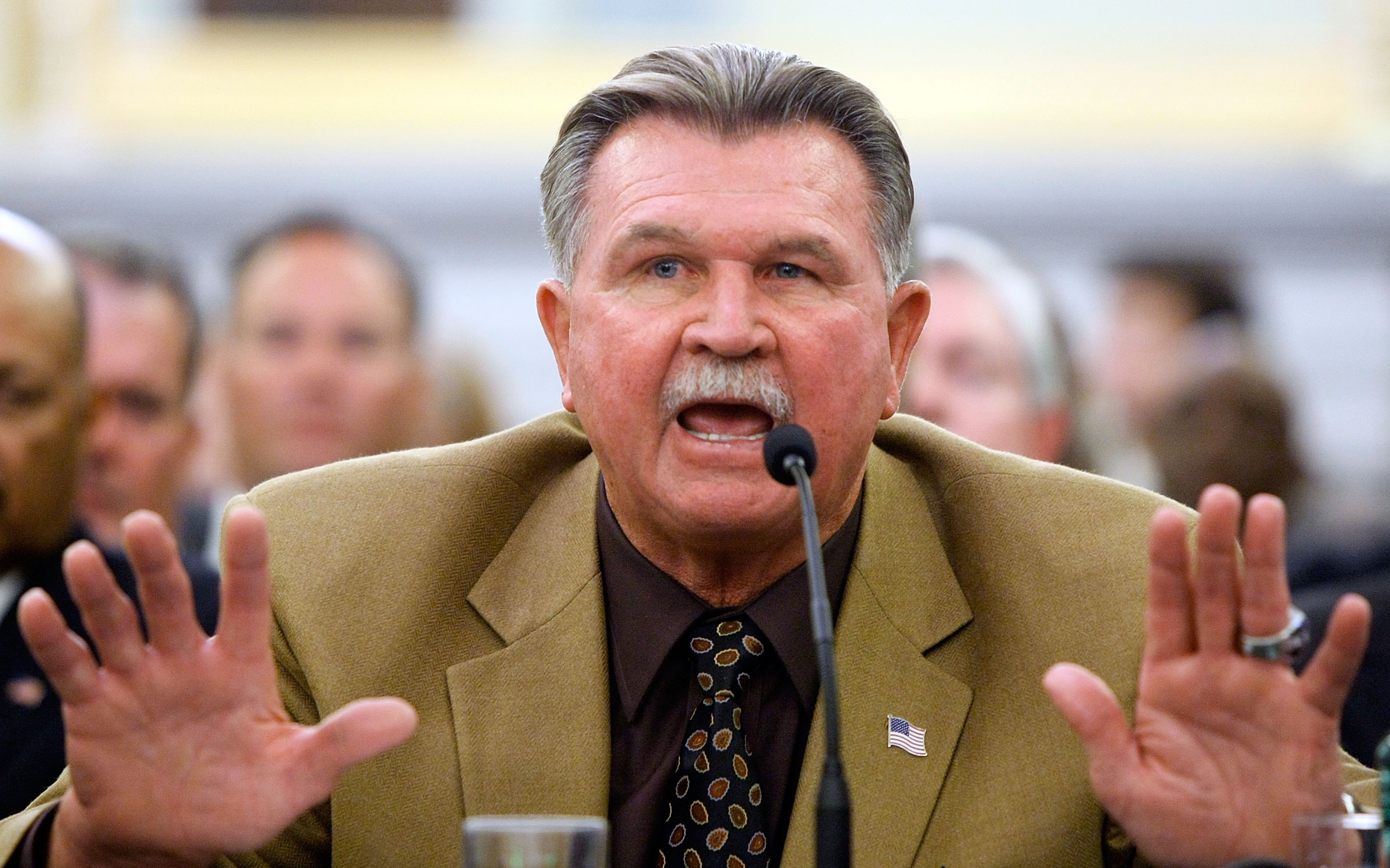 Ditka's biggest regret: Not running against Obama