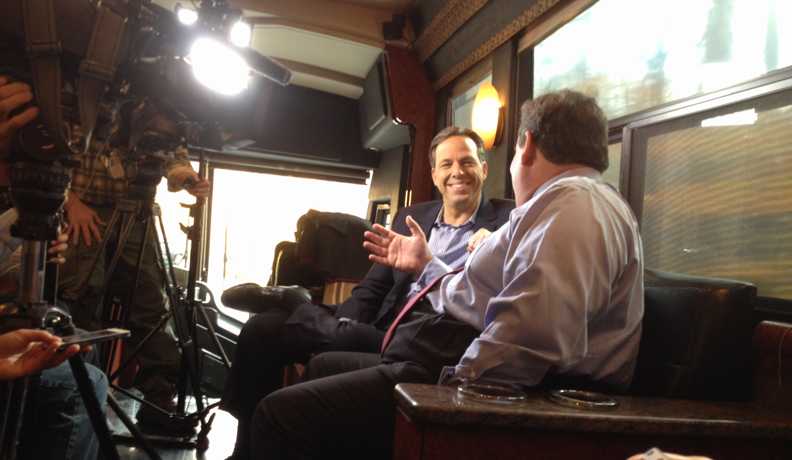 CNN's Jake Tapper Secures Exclusive Behind-the-Scenes Election Day Interview with Gov. Christie