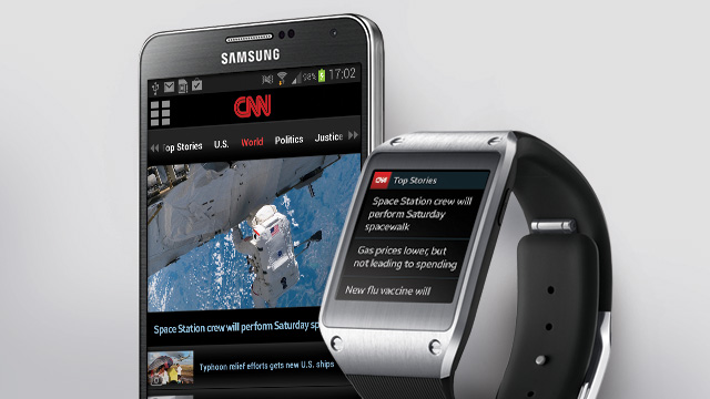 CNN Digital Launches App for Samsung's Smartwatch