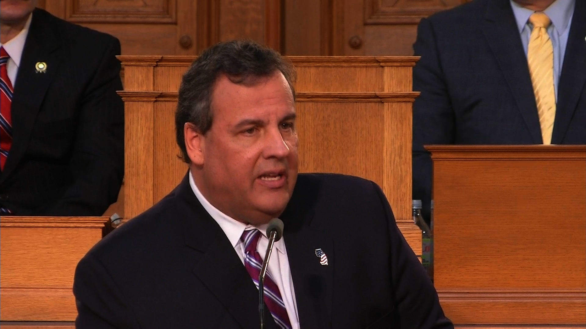 Christie makes big budget address