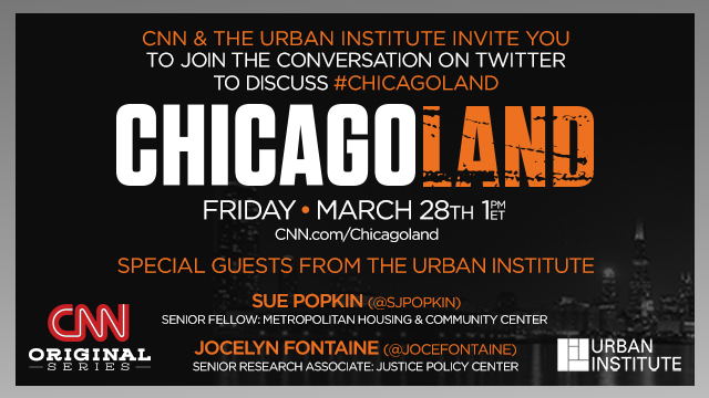 CHICAGOLAND Tweetchat at 1pm on March 28 explores how to improve our communities