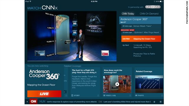 "CNN Unveils ""Watch CNNx"""