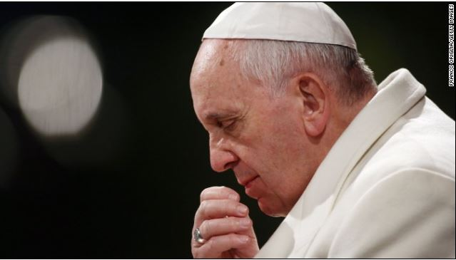 Pope Stirs Communion Debate With Call to Woman