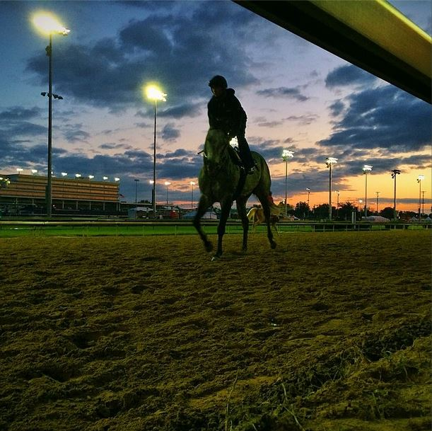 Photo of the Day: Behind-The-Scenes at Kentucky Derby