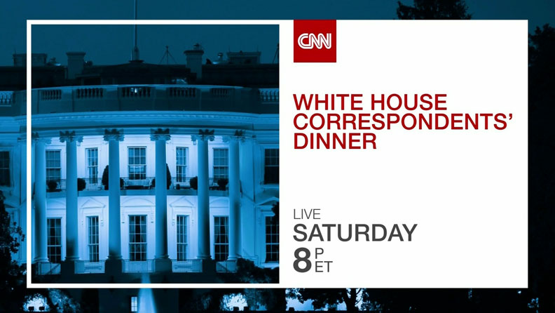 CNN to Provide Live Coverage of 2014 White House Correspondents' Dinner